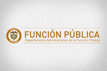 Departamento Administrativo Función Pública
